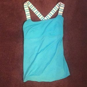 Lululemon size 6 with built in bra